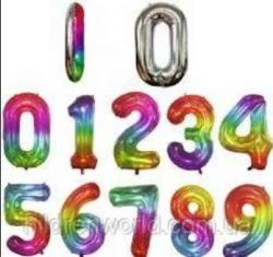 Цифри под гелий 80 см омбре