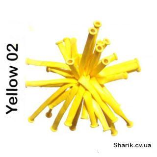 Воздушные шары D-4/02 ШДМ 260 (желтый)