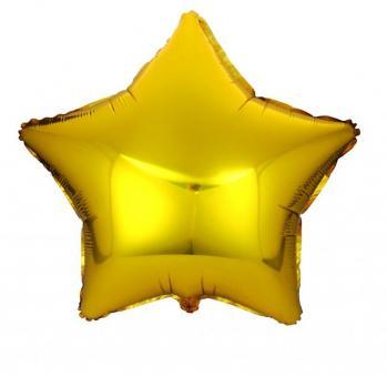 Звезда болшая 32 дюймов(72х72 см) золото FLEXMETAL
