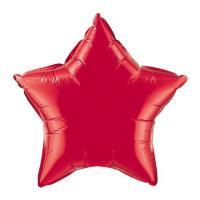 Звезда 18 дюймов(45х45см) красная FLEXMETAL