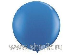 """Шарик 19""""/10 (48 см)(синий)"""