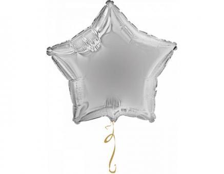 Звезда 32 дюймов(72х72см) серебро FLEXMETAL