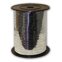 Лента декоративная (серебро)  210м. (боско)