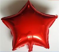 Звезда 18 дюймов (45х45см) красная Китай(слабо летает)