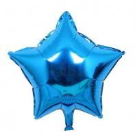 Звезда 18 дюймов (45х45см) голубая №2 Китай