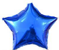 Звезда 32 дюймов(72х72 см) синяя FLEXMETAL