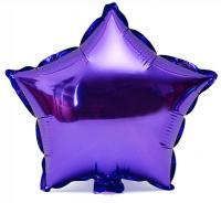 Звезда 18 дюймов(45х45см) фиолетовая №2 Китай