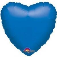 Сердце 18 дюймов(45х45см) синее FLEXMETAL
