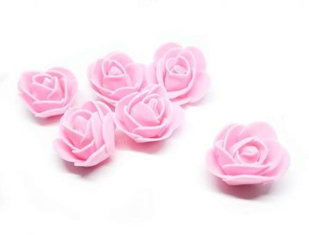 №1153 Розочки розовые 50шт