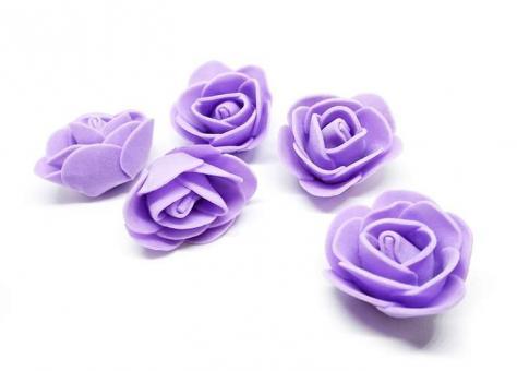 №1154 Розочки фиолетовые 50шт
