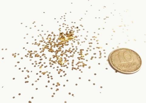 Блестки золото