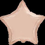 Звезда 18 дюймов(45х45см) розовое золото FLEXMETAL