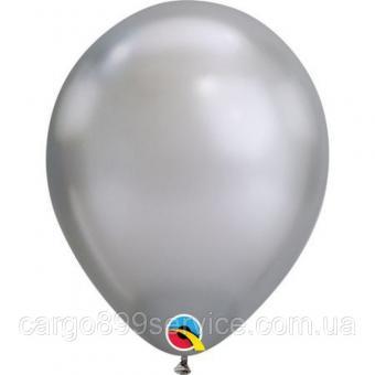 """Хром Китай 12""""(30см) Серебро (Silver)"""