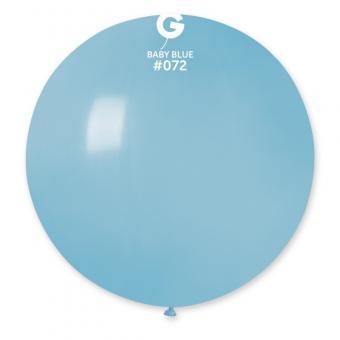 """Шарик G220/72 31""""(80см.)нежно голубой(Baby Blue)"""