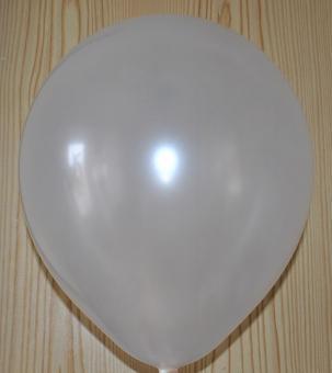 """Шары в пачках Китай 10""""(26см) белый(перламутрловый)"""
