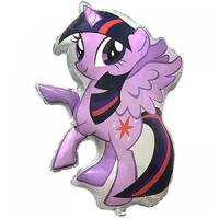 Шар из фольги пони Искорка 81х66см.(Flexmetal) Twilight sparkle