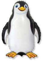 Шарик Пингвин черный FLEXMETAL 85х60см