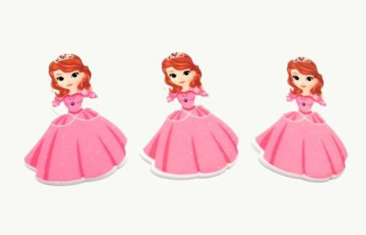 №1356 Кабошон-серединка принцесса розов.горошек