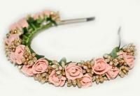 №1387 Обруч с цветами