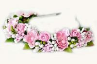 №1499 Обруч с цветами