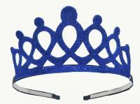 №1535 Корона фоамиран синяя