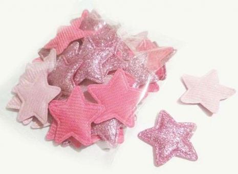№236 кабошон звезда маленькая фуксия