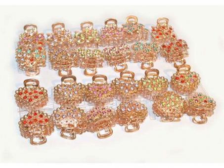 №27651 Краб металл золото