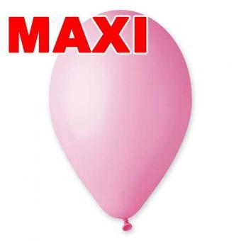Шары Gemar MAXI Baby pink #73, пастельные 10″ (26см) 500шт.