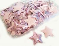 №40243 кабошон звезда розовая 10шт