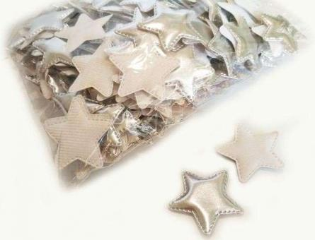 №40244 Кабошон звезда серебро 10шт