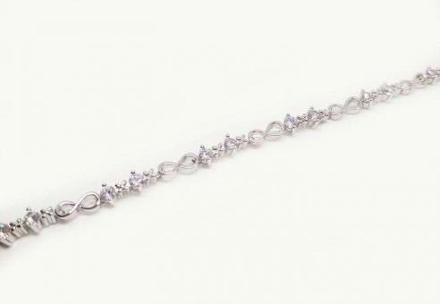 №5125 Браслет Xuping серебро регулируется