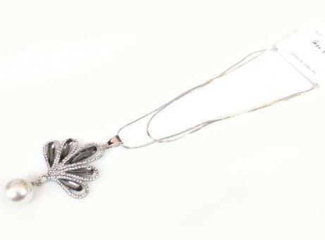 №5884 Ожерелье серебро длинная цепочка