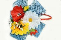 №620 Обруч с цветком