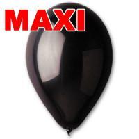 Шары Gemar MAXI черные 10″ (26см) 500шт.