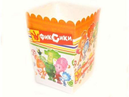 №813 Коробочка для попкорна Фиксики