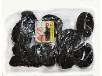 №963 Резинка большая черная 12, диам. 4.5см