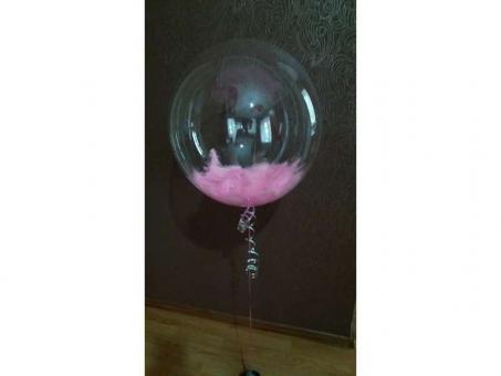 """Шарик Bubble прозрачный 18""""(40см)"""