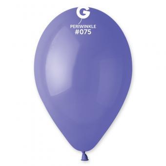 "Шары Gemar G90-75 10""(барвинок)(Periwinkle)"