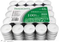 Свечи таблетки чайные 4 часа горения премиум качества