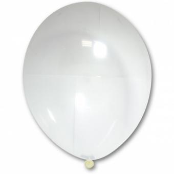 "Шарик BELBAL №038 кристалл ПРОЗРАЧНЫЙ - СТЕКЛО(Crystal Clear) 12""(30см)"