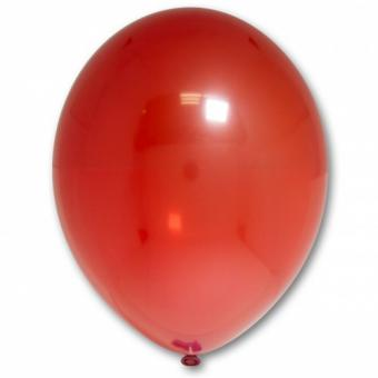 "Шарик BELBAL №131 кристалл КРАСНЫЙ (Crystal Red) 12""(30см)"