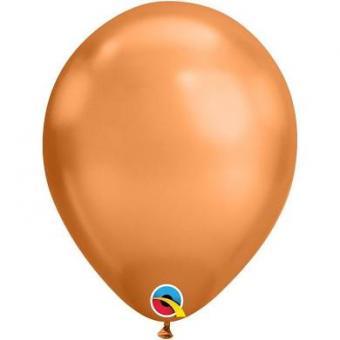 """Шары Хром Qualatex (США) 11""""(28см) Copper (Медный)"""