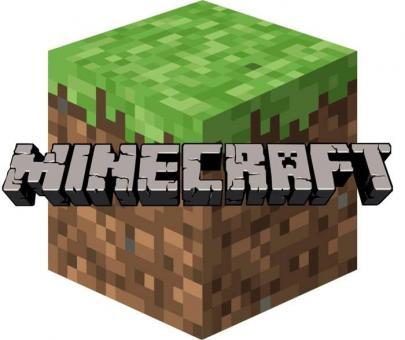Наклейка на коробку сюрприз Minecraft