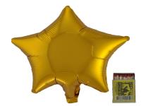 Звезда(мини) 9 дюймов(24*25 см) золото Китай от 5шт