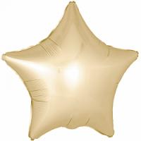 Звезда  SATIN 18 дюймов(45х45см) золотая металик FLEXMETAL