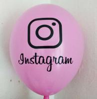 "Шарики  instagram  12""(30см) микс  (инстаграм)"