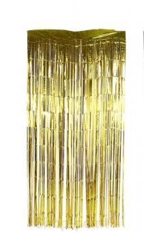 Шторка занавес из фольги для фотозон, ЗОЛОТО 1х2 м